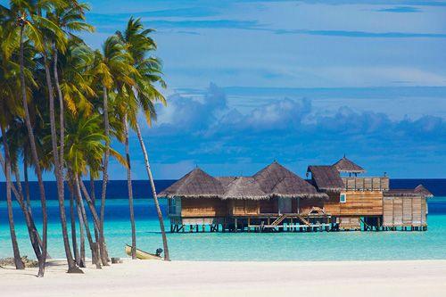 Villa en la isla tropical Lankanfushi