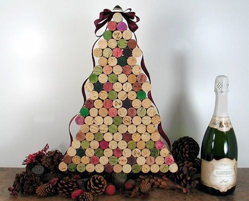 arbol navidad original diy creatividad decoracion