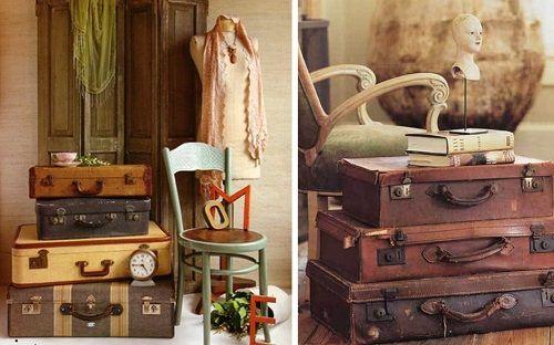 Maletas estilo vintage
