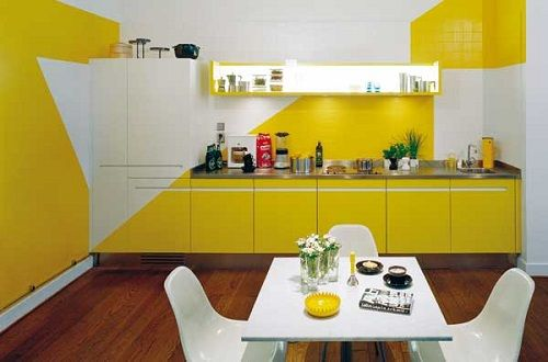 Decoración con amarillo 18