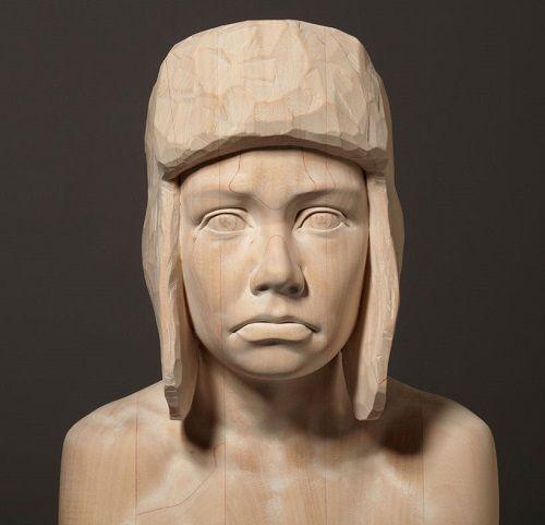 Esculturas de madera por Mario Dilitz