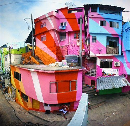 pintura mural favelas