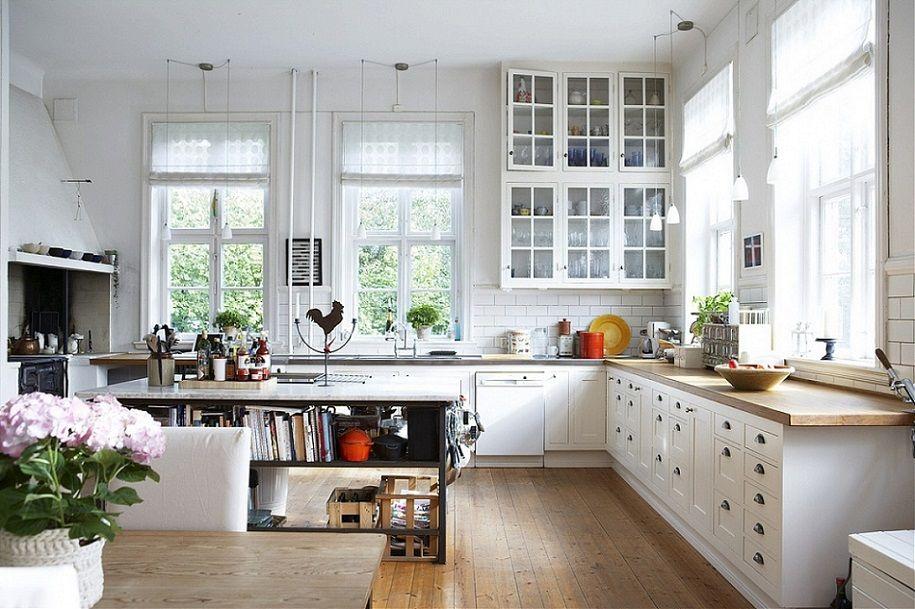 Una selección de cocinas nórdicas de ensueño