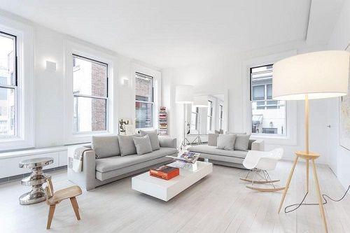 Apartamento escandinavo en Manhattan