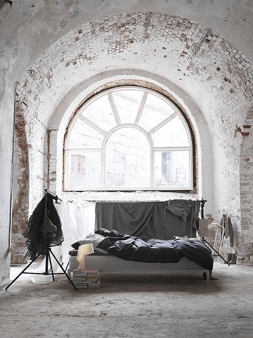 Dormitorio industrial destartalado