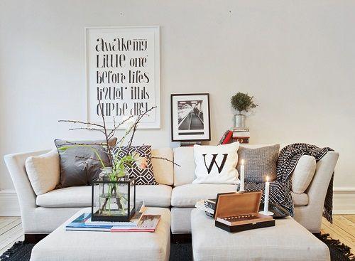 salon nordico sofa