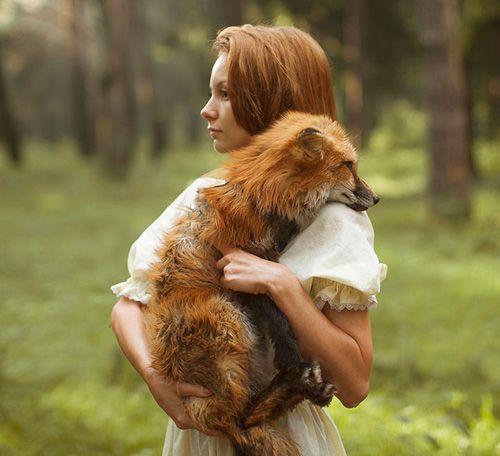abrazando al zorro