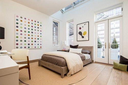 Dormitorio apartamento neoyorquino