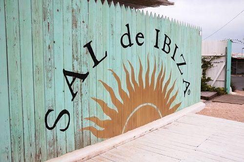 Exterior de la tienda Sal de Ibiza