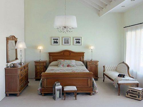 Dormitorio-estilo french country