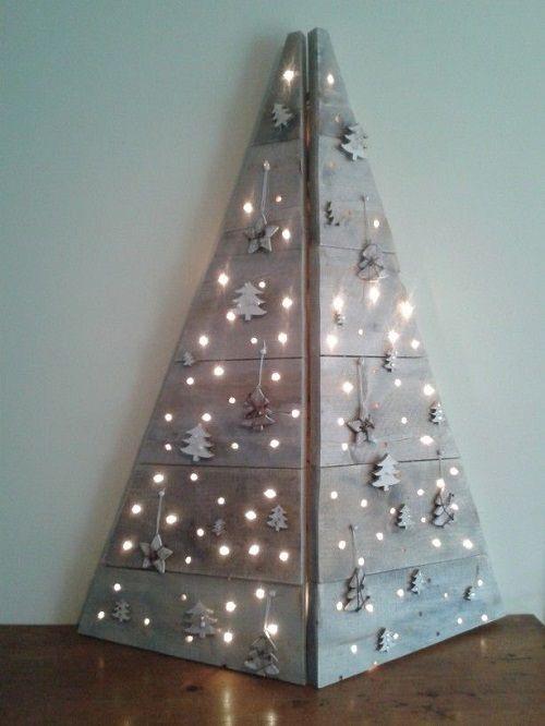arbol de navidad con palets 5