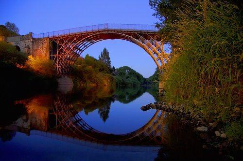 arquitectura de hierro puente