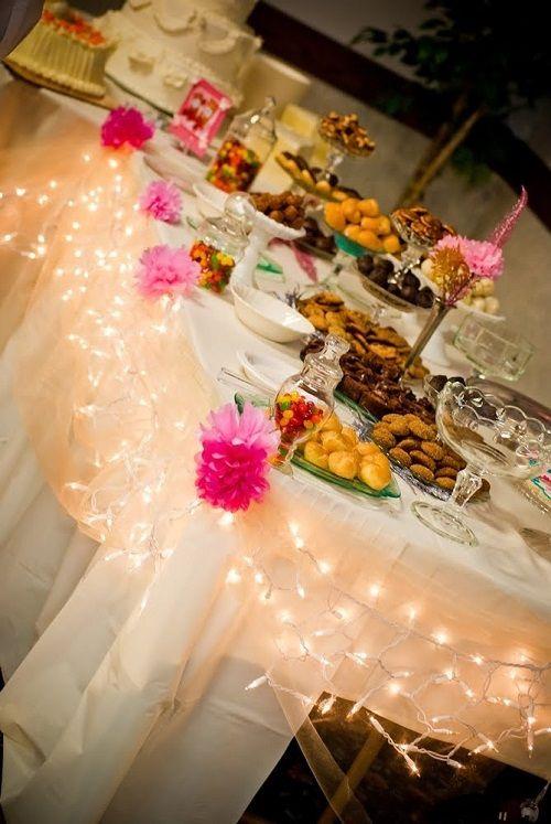 mesa de navidad dulce