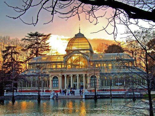 arquitectura de hierro palacion cristal madrid