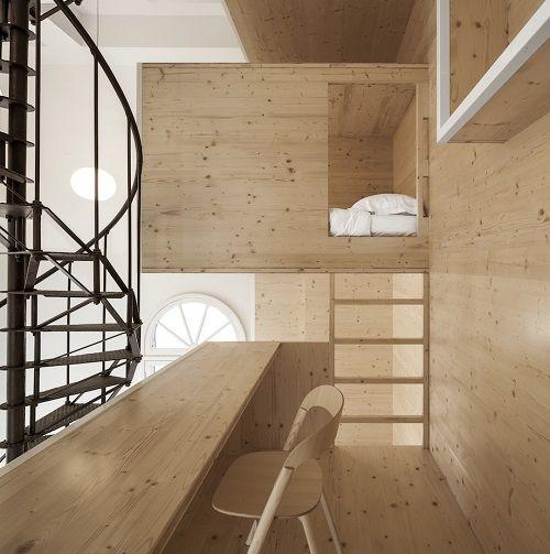 Room on the Roof, residencia de artistas espectacular por i29