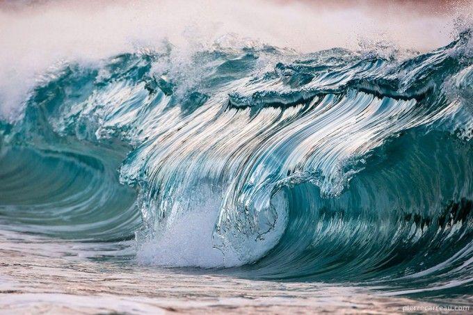 AquaViva, la increíble serie fotográfica de olas congeladas
