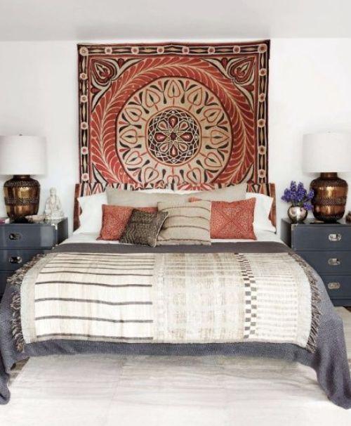 cabeceros originales tapiz