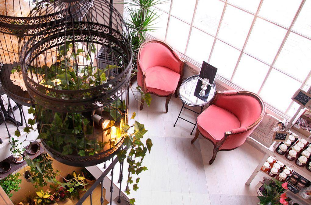 Flores, té y «vintage living» en el Salon des Fleurs