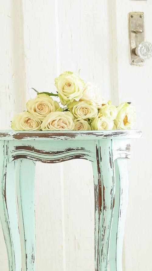 chalk paint mesita colores pastel pintura ecologica decoracion diy bricolaje