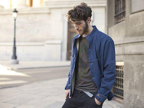 coleccion lookbook  modelo sense nu moda masculina ropa ecologica