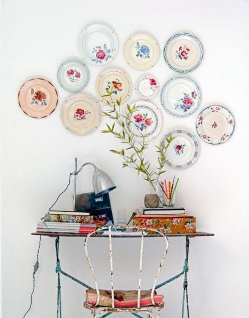 decoracion platos ideas paredes