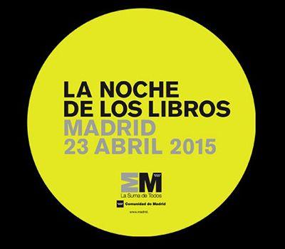 noche de los libros amdrid 2015