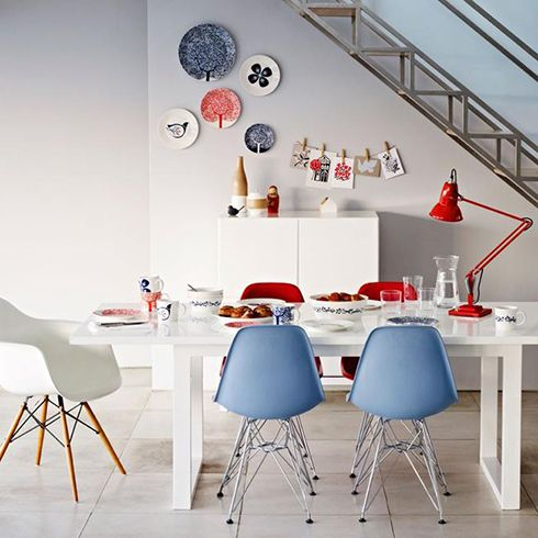 platos colores decoracion ideas ceramica paredes
