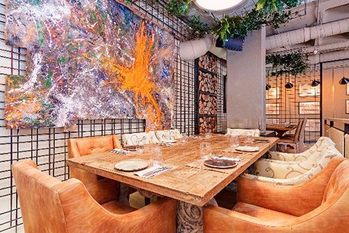 decoracion restaurante marieta madrid
