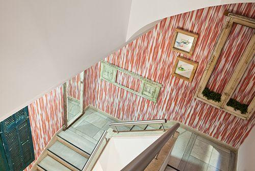 """Escalera espacio """"La casa por las paredes"""", de  Marta Sánchez Zornoza"""