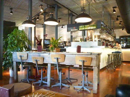 interior restaurante la musa la latina madrid