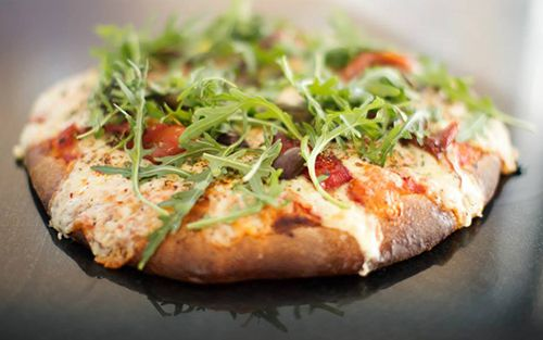 pizza morrones rucula pizzeria argentina picsa madrid