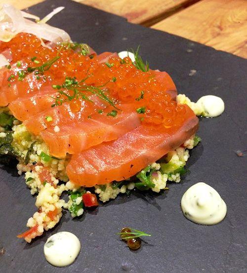 tabule salmon restaurante triciclo madrid