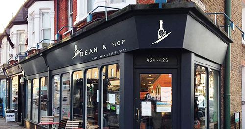 bean and hop cafeteria londres craft beer