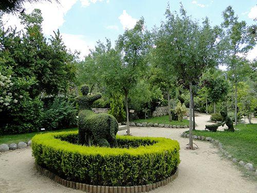 centauro el bosque encantado madrid jardin botanico