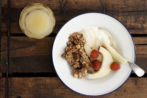 comida ginger&white cafeteria londres