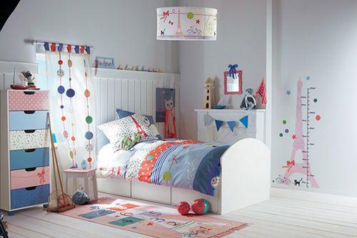 habitacion decoracion infantil parisina ideas