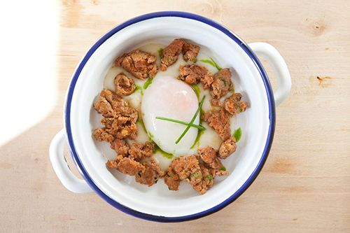 huevo plato eco comida restaurante mama campo madrid