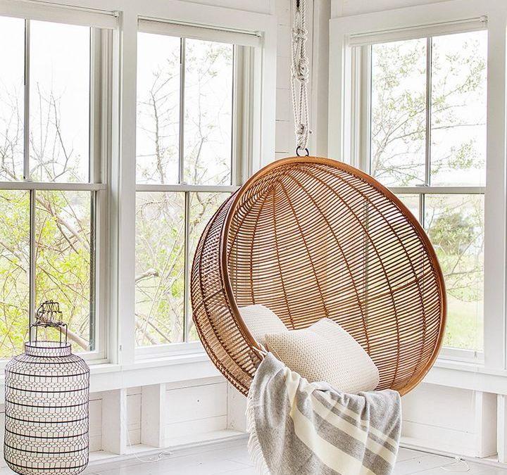 Sillas de fibras naturales, tendencia total en decoración