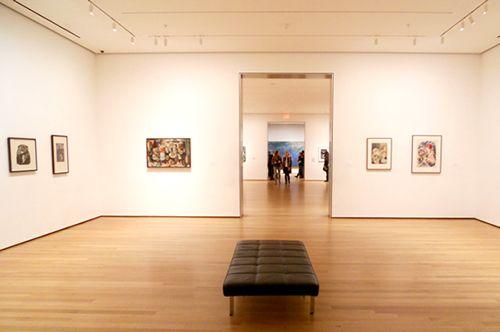 moma interior galeria coleccion arte moderno nueva york museo