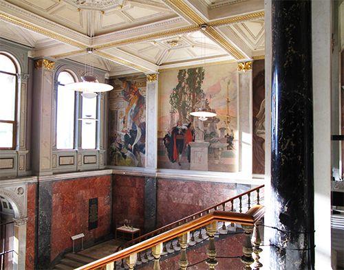 museo nacional estocolmo suecia interior arte