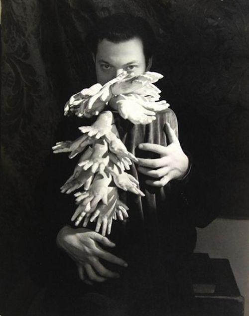orson welles man ray fotografia retrato