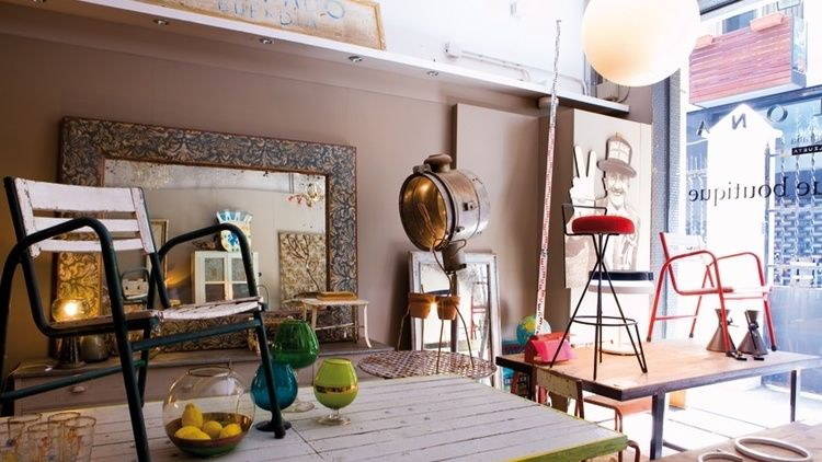 Antique Boutique, un oasis vintage en Barcelona