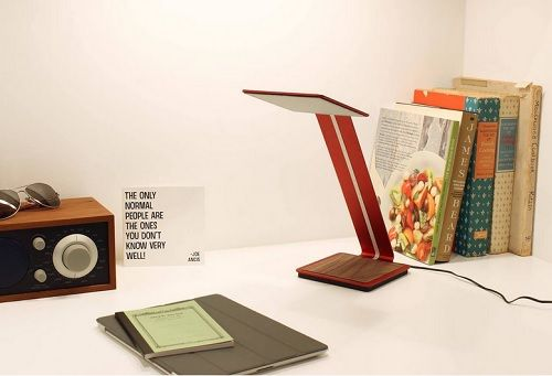 lampara led futurista