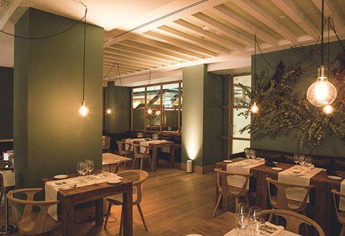the table by hotel urso cenador de amor restaurante jesus sanchez