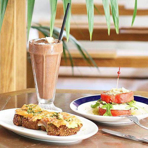 comida restaurante flexitariano flax kale barcelona