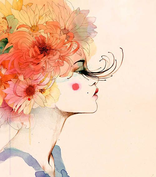 ilustracion acuarela conrad roset