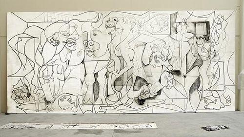 j r amondarain la risa del espacio summa contemporary feria arte madrid