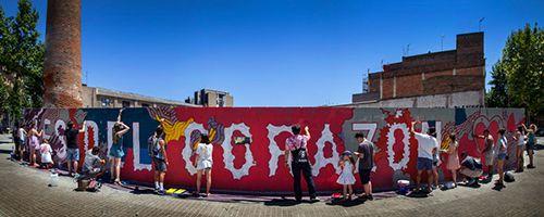 mural pasion boa mistura arte callejero