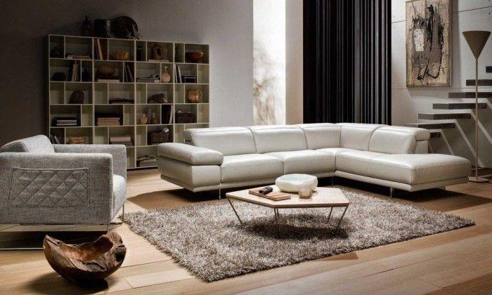 salon sofas blancos natuzzi