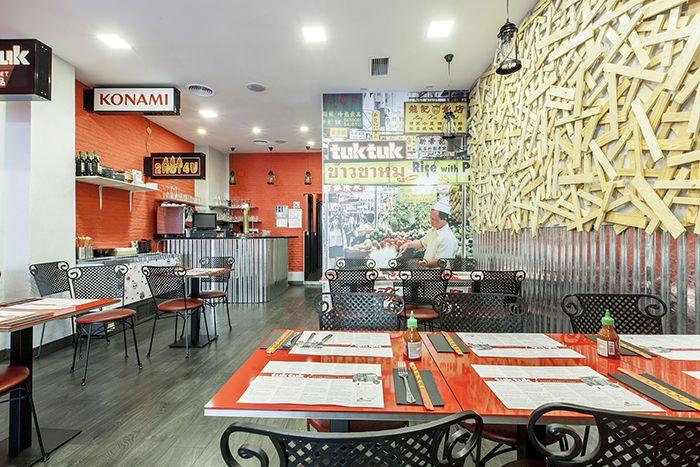 Tuk Tuk, restaurantes que nos traen la exquisita y auténtica street food oriental